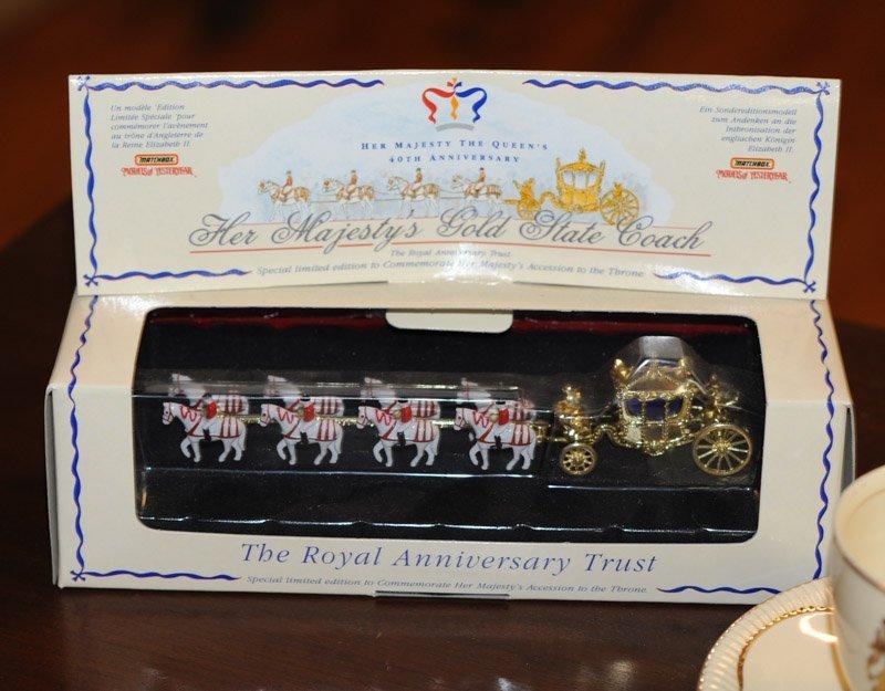 Queen Elizabeth Coronation Cup & Saucer - 2