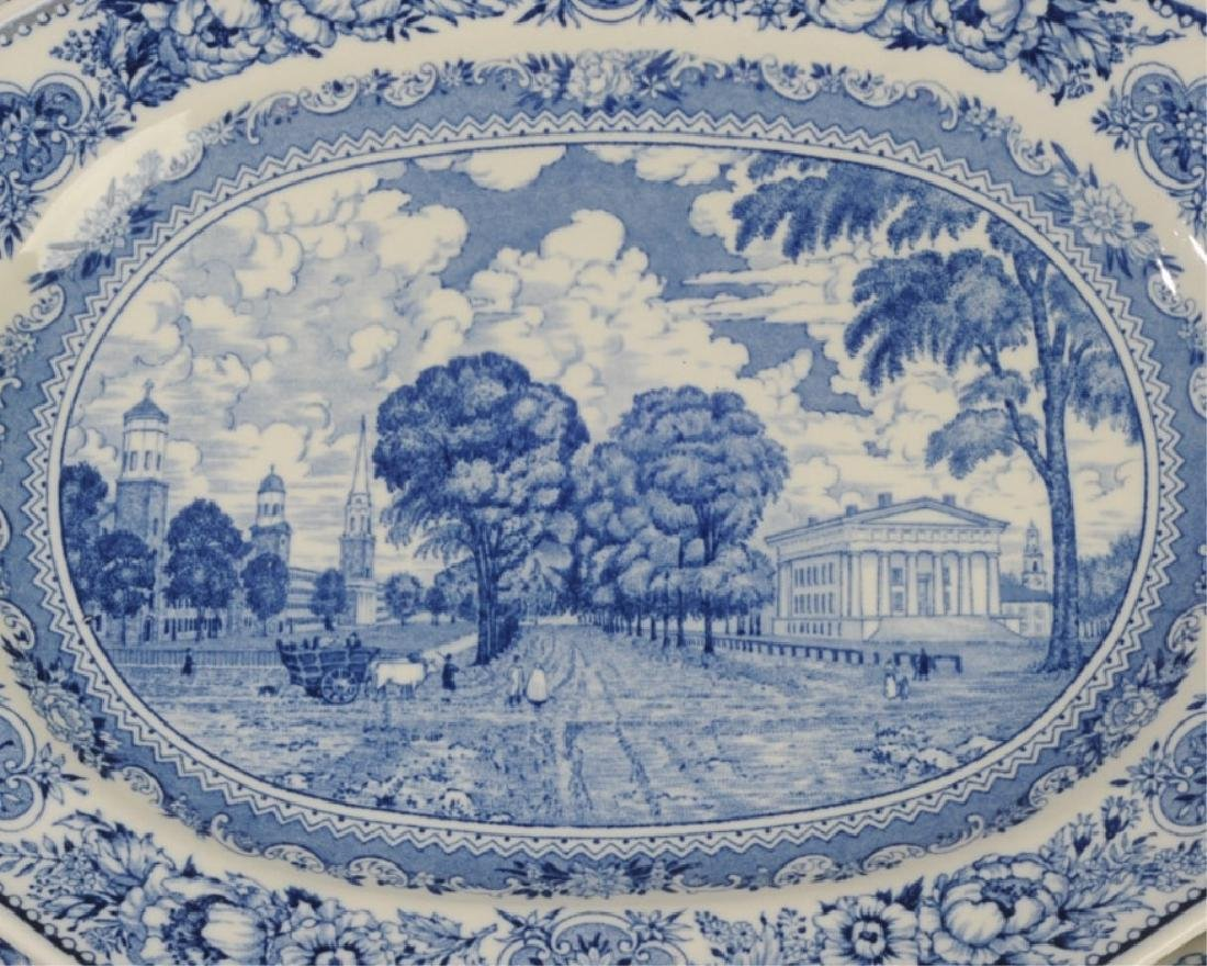 Three Wedgwood Yale University Platters - 3
