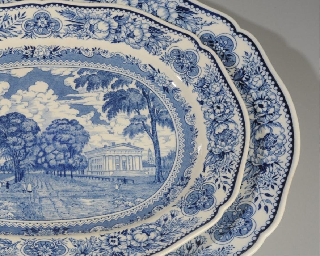 Three Wedgwood Yale University Platters - 4
