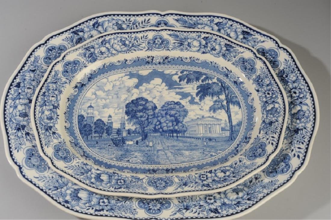 Three Wedgwood Yale University Platters - 5