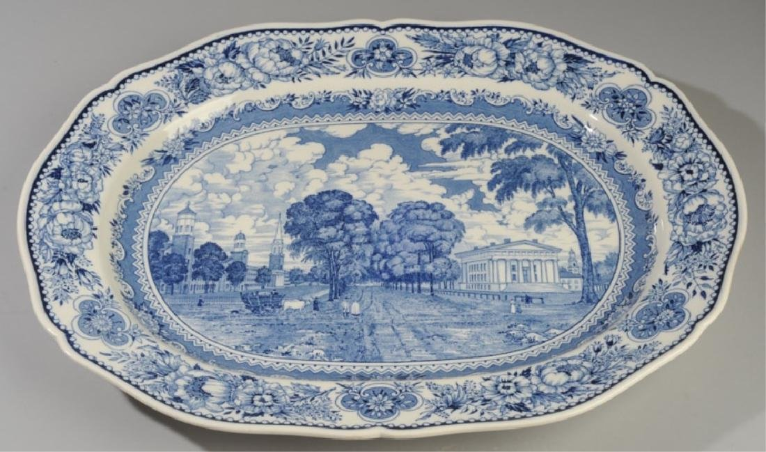 Three Wedgwood Yale University Platters - 6