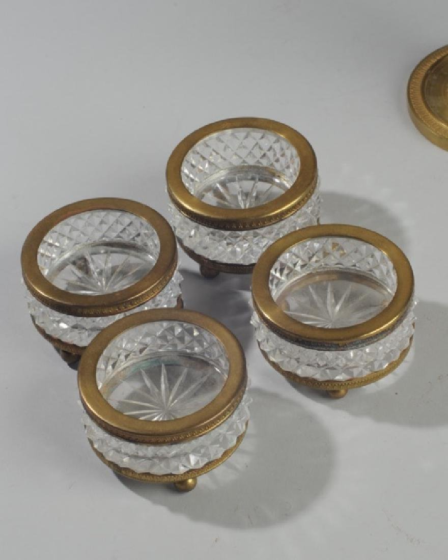 French Vintage Crystal & Ormolu Grouping - 4