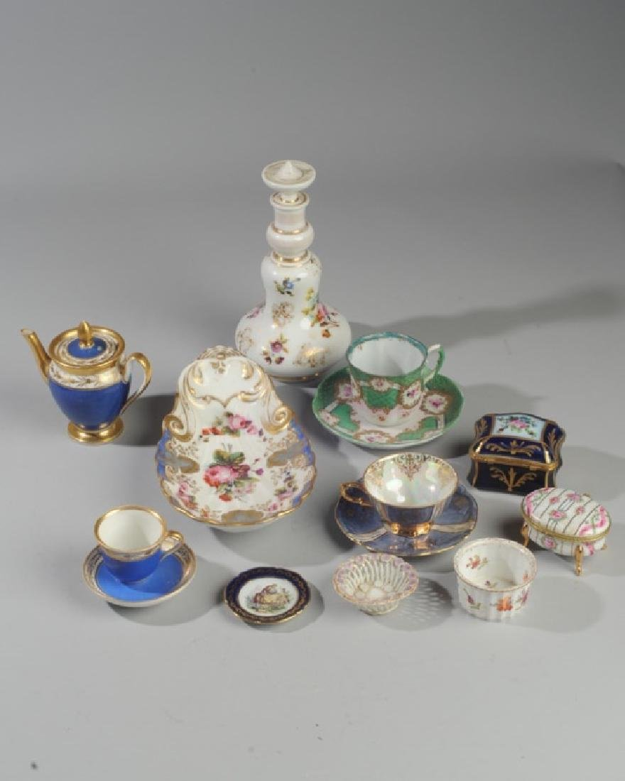 Mixed Continental Porcelain Lot