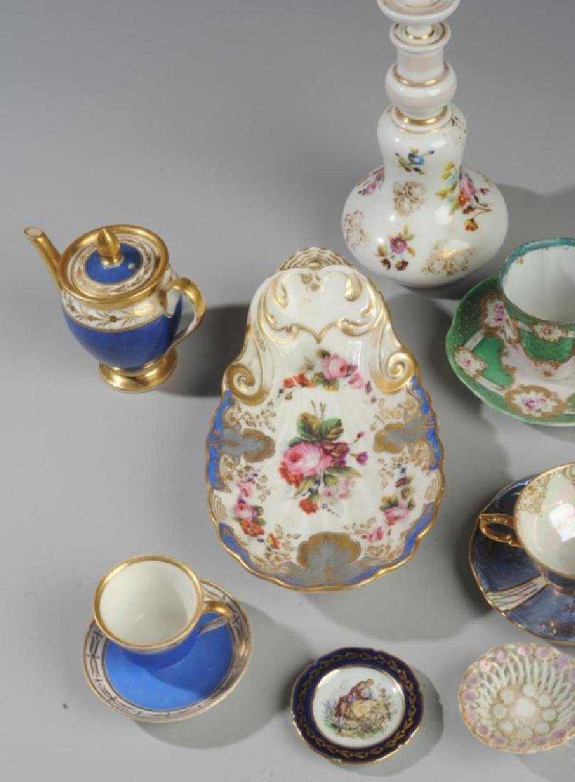 Mixed Continental Porcelain Lot - 2