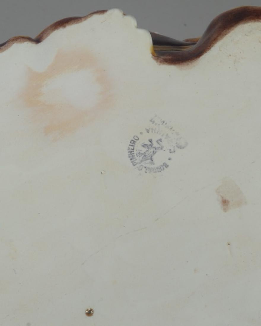 Bordallo Pinheiro Byzantine Ceramic Cat - 6