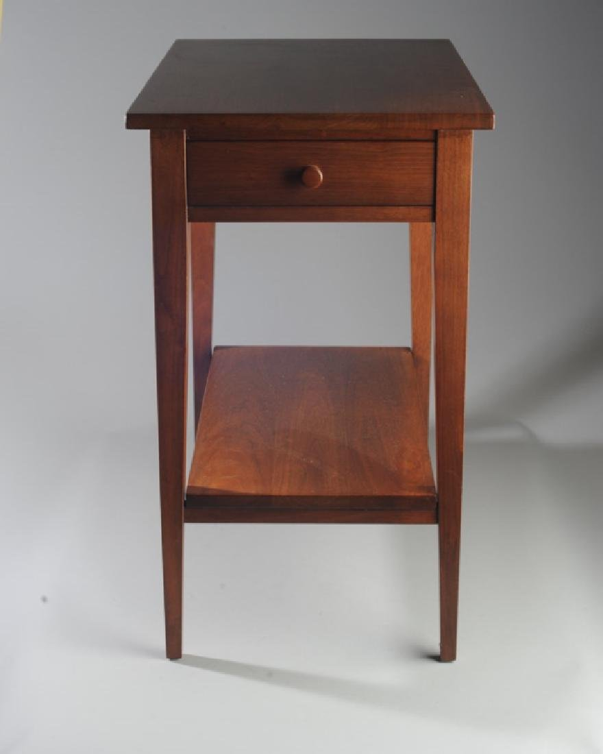E.A. Clore Two Tier Single Drawer End Table