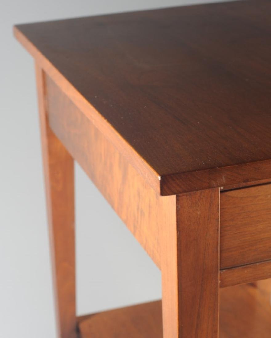 E.A. Clore Two Tier Single Drawer End Table - 2