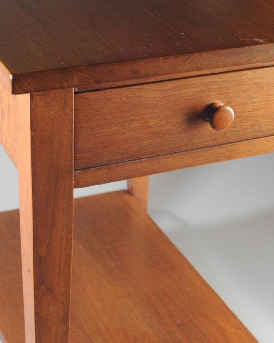 E.A. Clore Two Tier Single Drawer End Table - 3