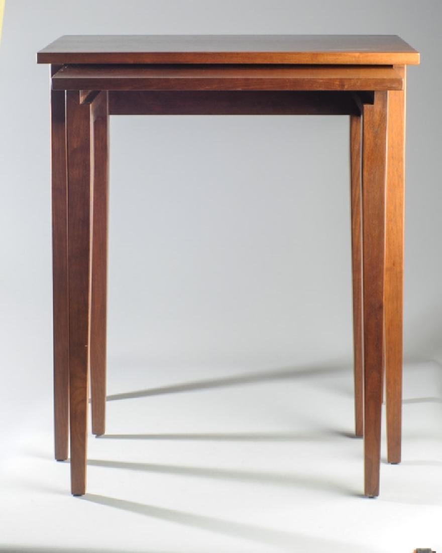 Two E.A. Clore Nesting Tables - 2