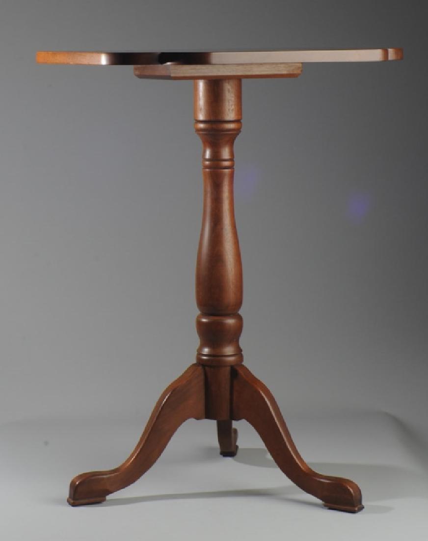 E.A. Clore Clover Leaf Stationary Top Candlestand - 2