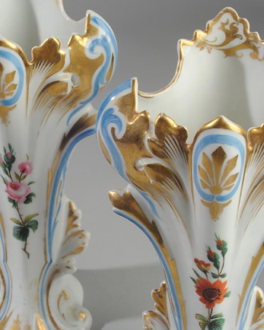 Three Old Paris Vases - 3