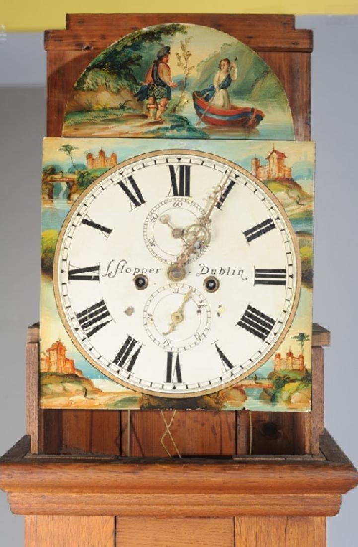 Antique Tall Case Clock - 7