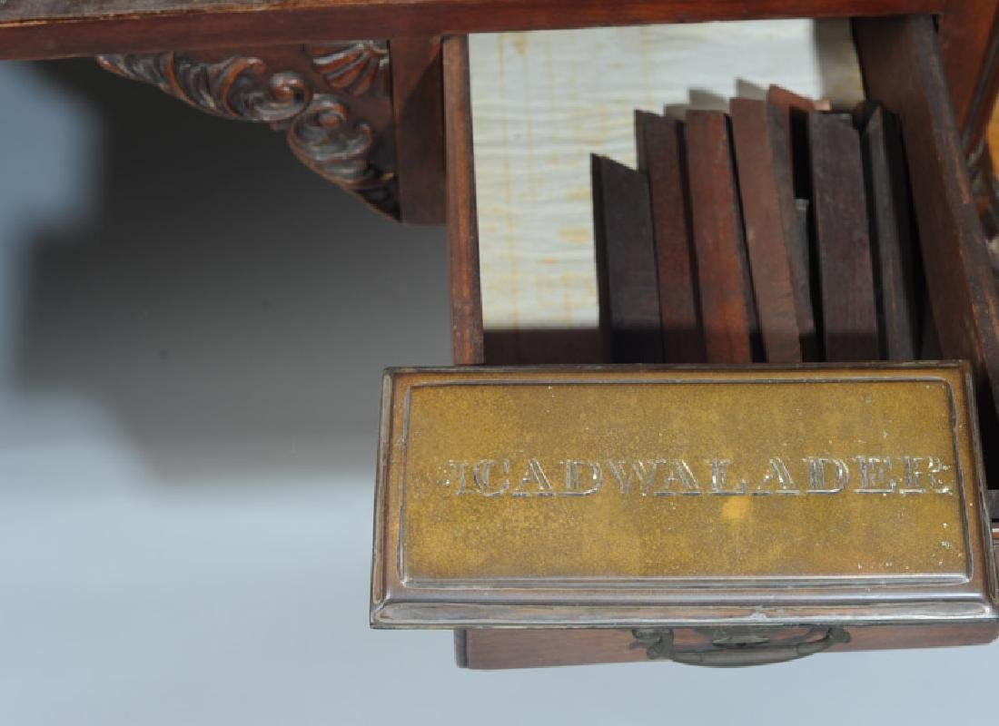 Cadwalader Family Chippendale Writing Table - 3