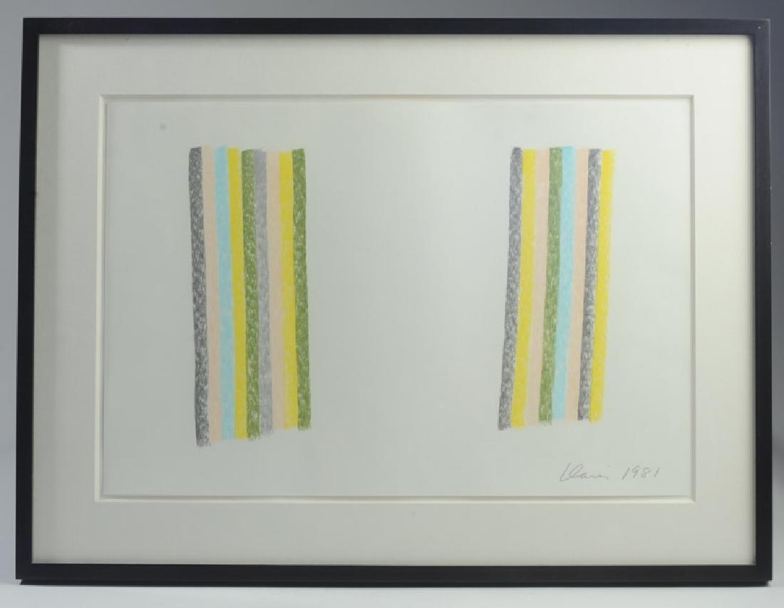 Gene Davis (1920 - 1985) Pastel