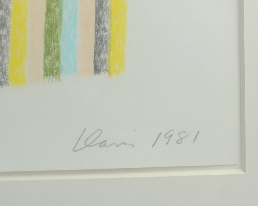 Gene Davis (1920 - 1985) Pastel - 2