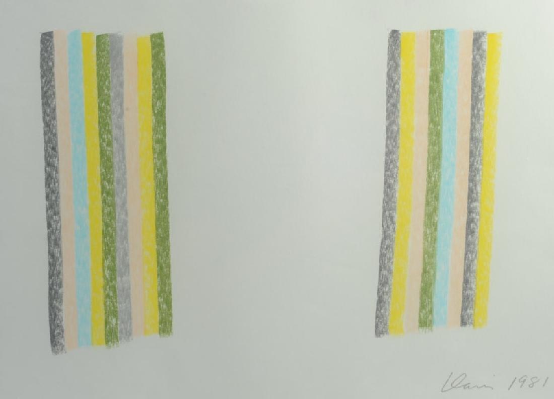 Gene Davis (1920 - 1985) Pastel - 3