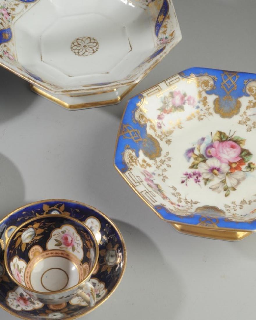 Old Paris Porcelain, Victorian Art Glass - 4