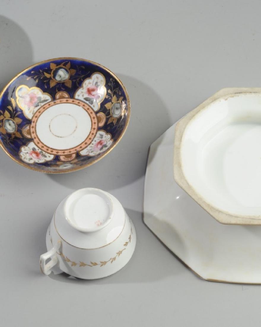 Old Paris Porcelain, Victorian Art Glass - 5