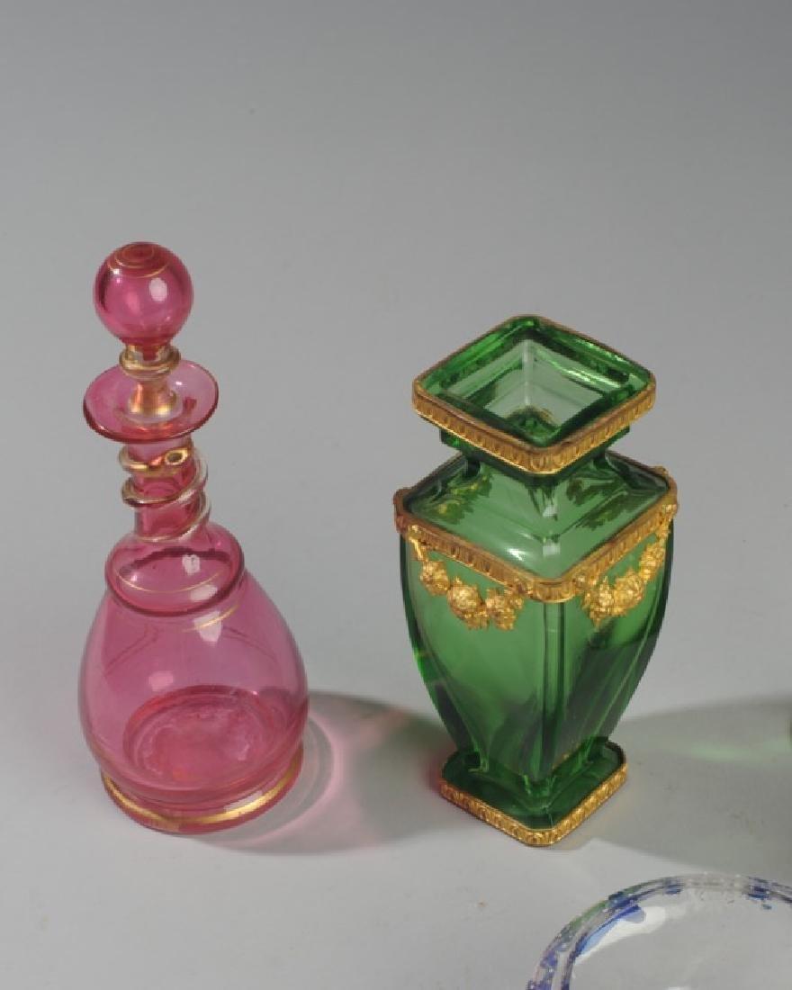 19th C. Bohemian Art Glass Lot - 4