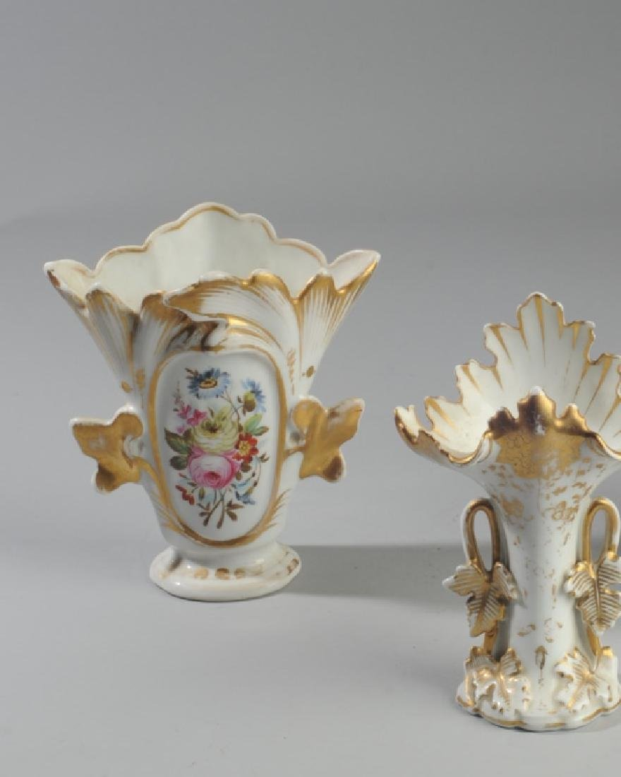 Three Old Paris Vases - 2