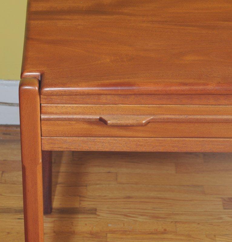 Mid Century Modern Design Cherry Writing Desk - 2
