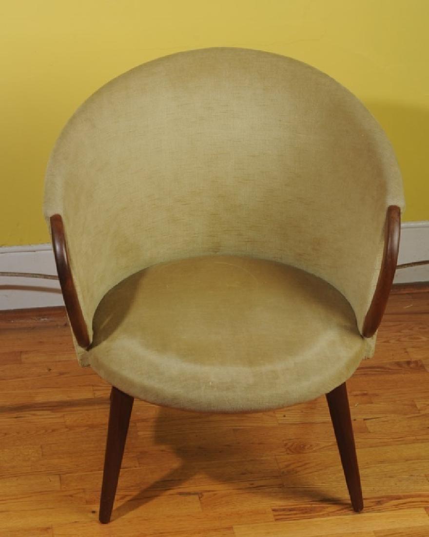 Mid Century Modern Design Danish Slipper Chair