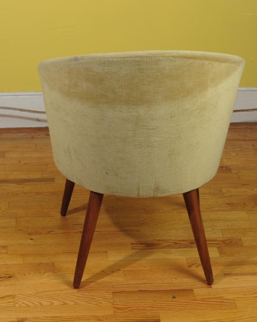 Mid Century Modern Design Danish Slipper Chair - 3