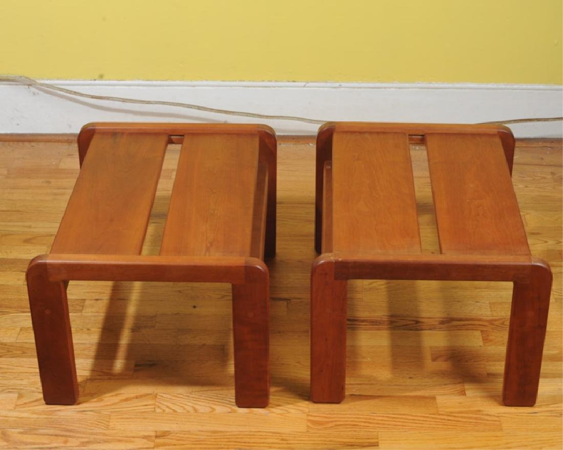 Pair William Brouwer Benches / Low Tables