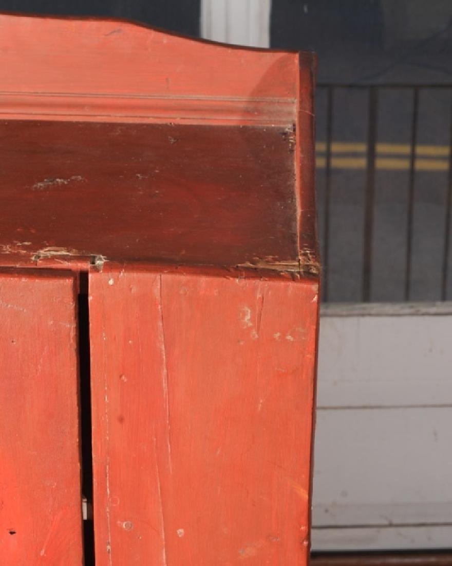 Pine Painted Single Door Jelly Cupboard - 3