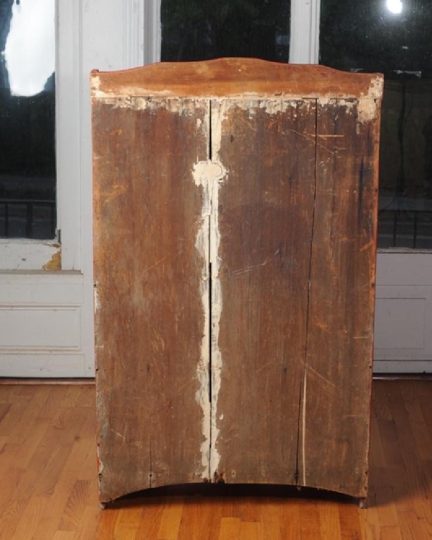 Pine Painted Single Door Jelly Cupboard - 6