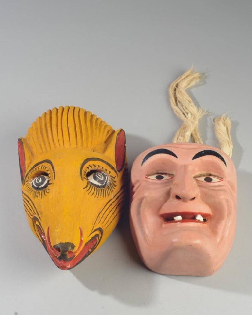Vintage Mexican Viejito Dance Mask