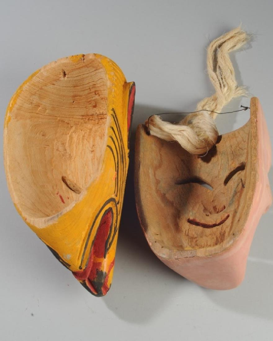 Vintage Mexican Viejito Dance Mask - 3