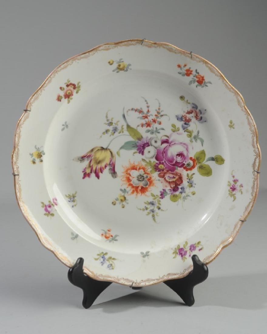 Antique Meissen Serving Bowl