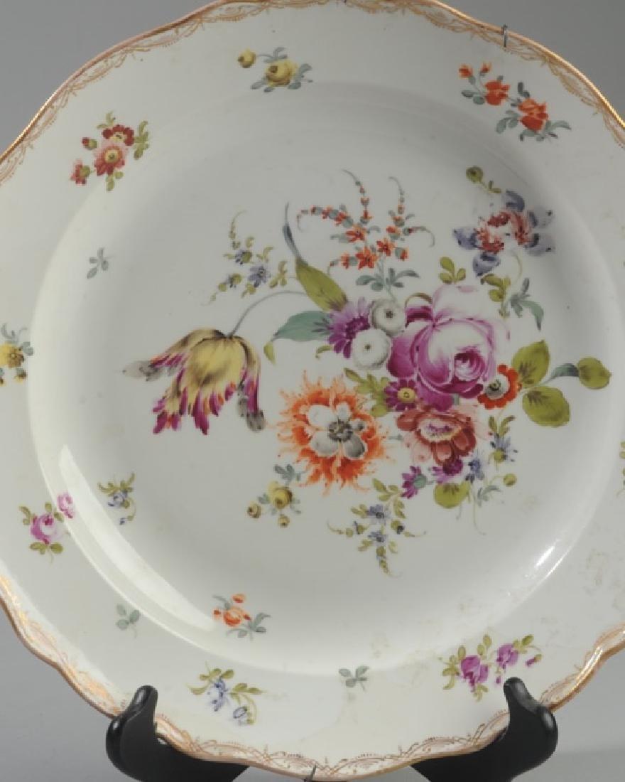 Antique Meissen Serving Bowl - 2