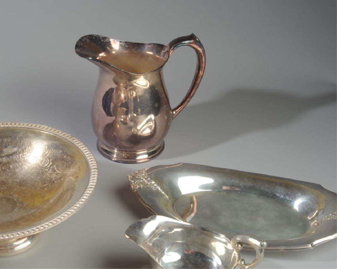 Lot of Silverplate Serving Pieces - 3