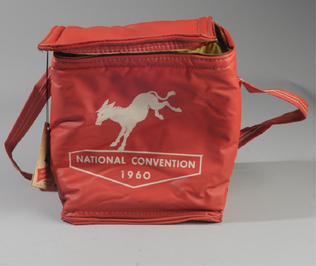 1960 Democratic National Convention Coca Cola Bag
