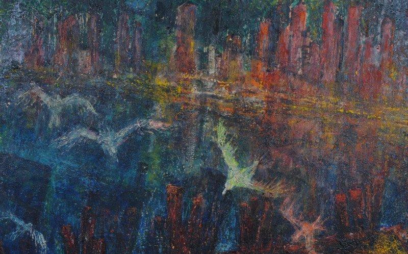 Leslie Fliegel (1912 - 1968) Oil on Panel - 3