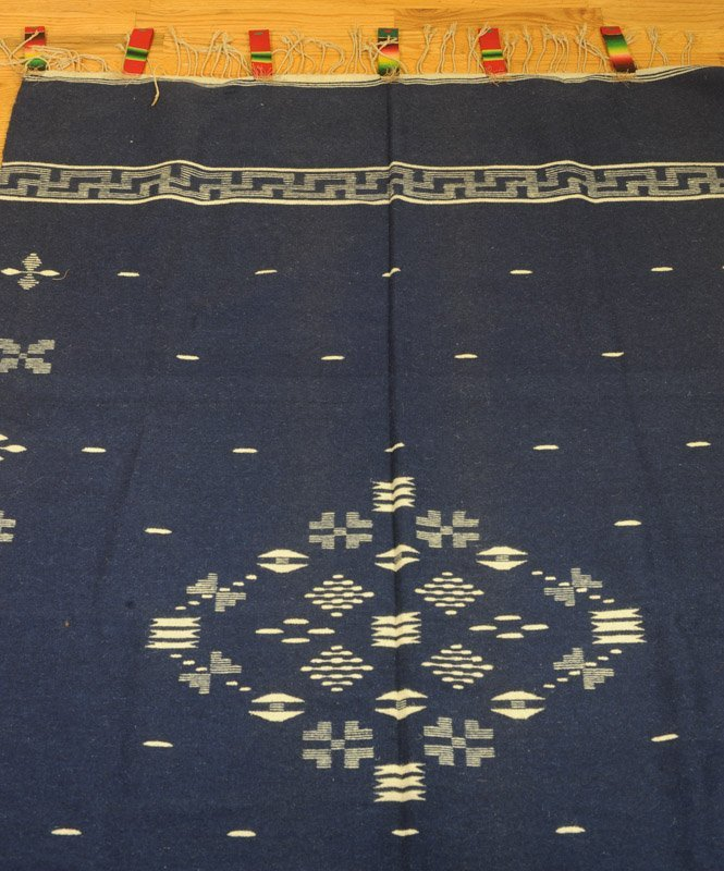 Early 20th C. Chimayo Weaving Textile - 3
