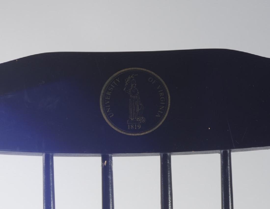 University of Virginia Windsor Style Chair - 2