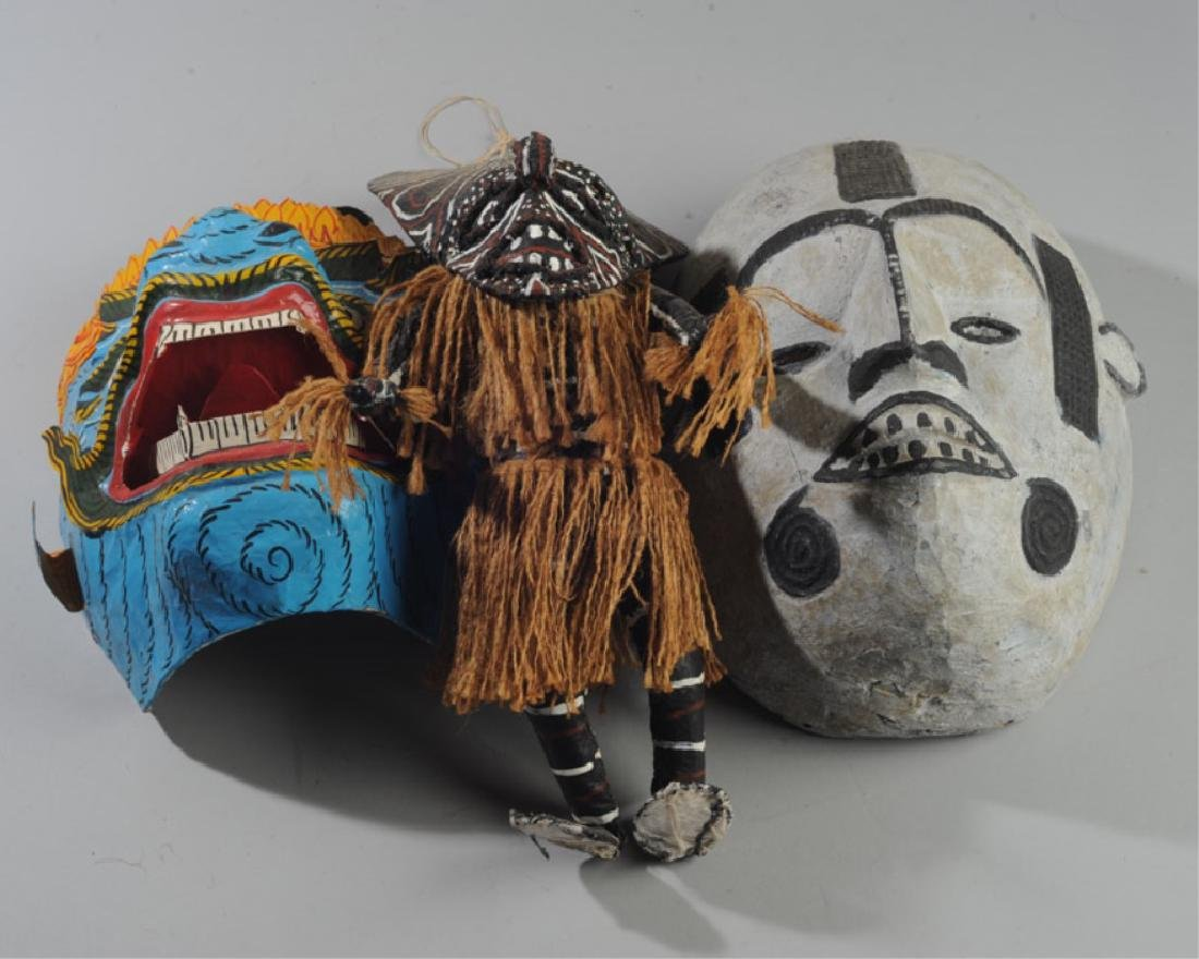 African and Asian Masks, more