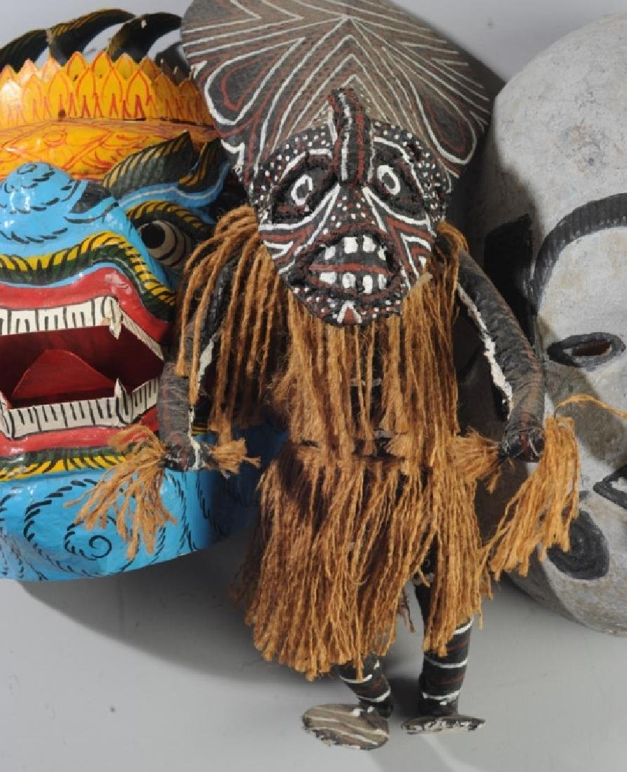 African and Asian Masks, more - 2