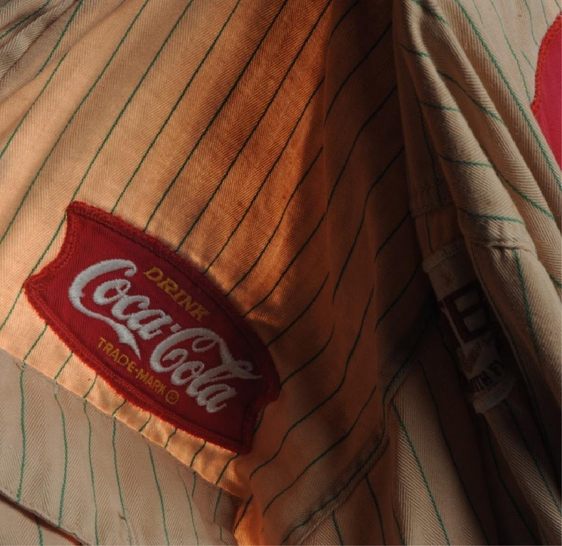 Two Vintage Coca Cola Delivery Man's Shirts - 2