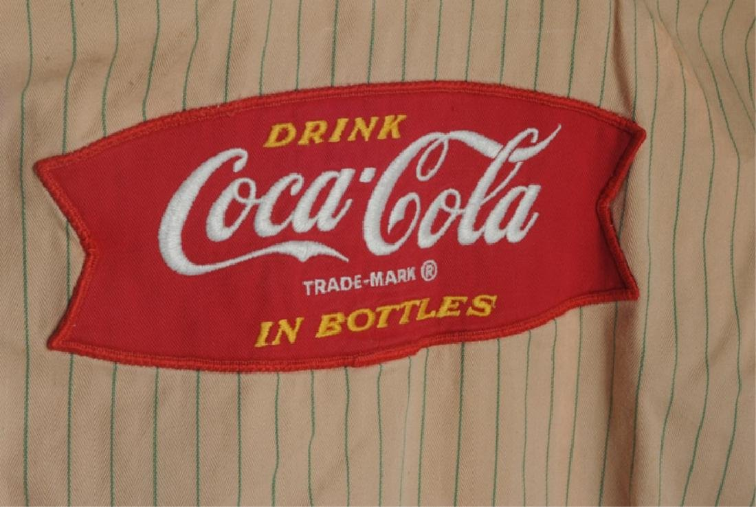 Two Vintage Coca Cola Delivery Man's Shirts - 4