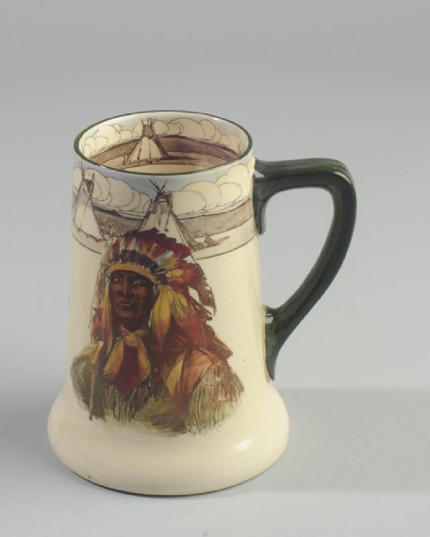 Royal Doulton Native American Mug