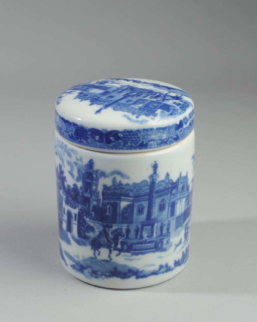 Victoria Ware Ironstone Lidded Biscuit Jar
