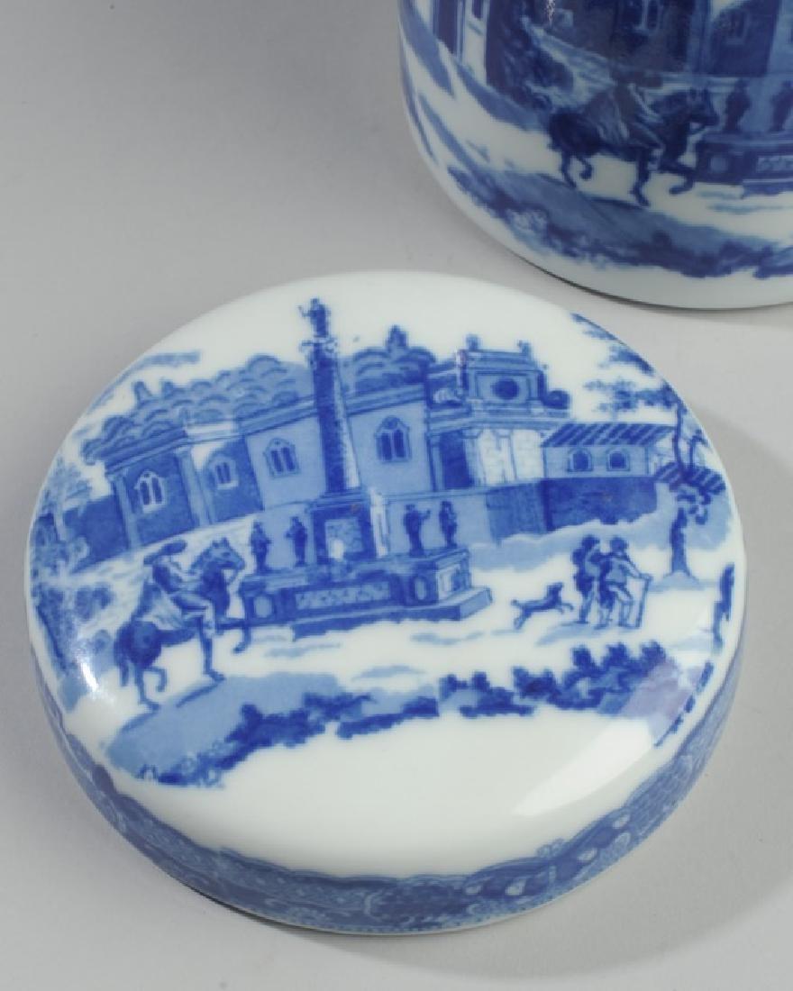 Victoria Ware Ironstone Lidded Biscuit Jar - 3