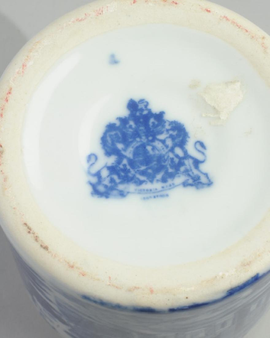 Victoria Ware Ironstone Lidded Biscuit Jar - 4