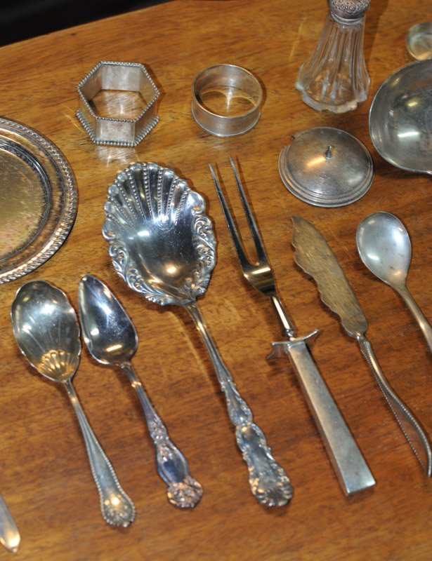 Large Lot of Small Silverplate Pieces - 3