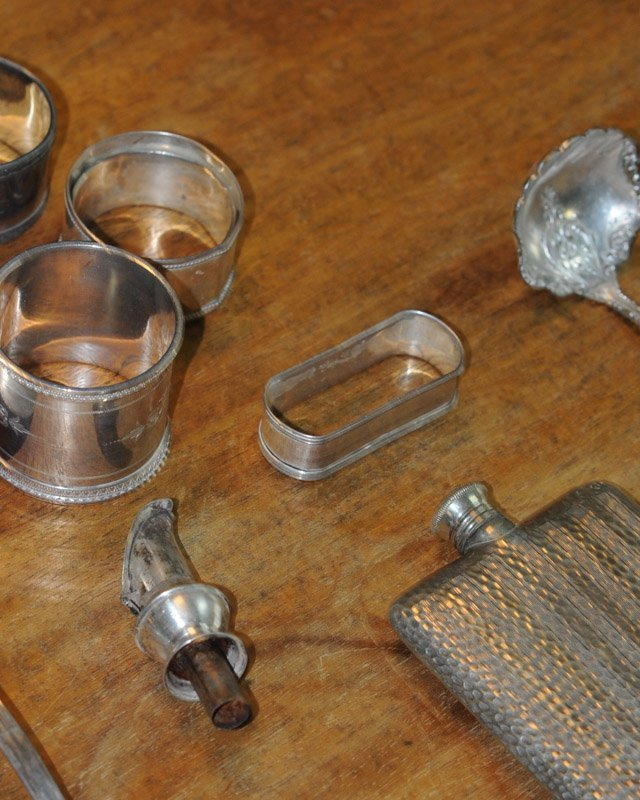 Large Lot of Small Silverplate Pieces - 4