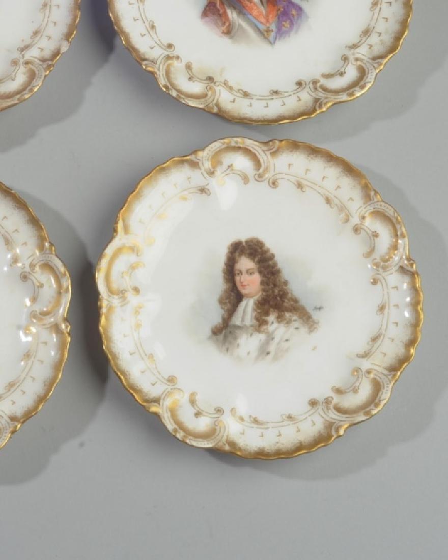 Set of 6 Limoges Portrait Small Plates - 3